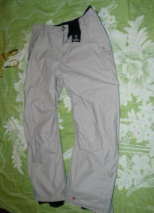 Горнолыжные мужские штаны термо 5.000мм quik silver xl