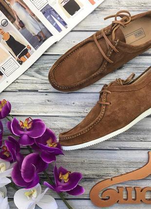 Стильные ботинки чукка asos с контрастной подошвой  sh26125  asos