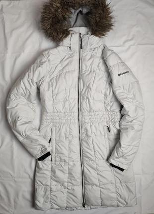 Пуховик куртка columbia s