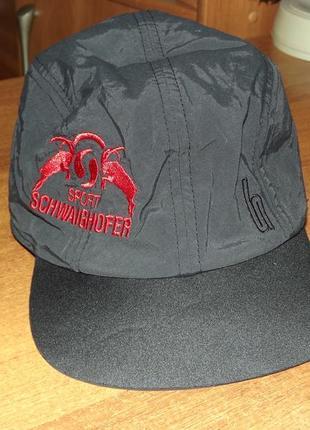 Легкая кепка stöhr neoprene visor cap, unisex