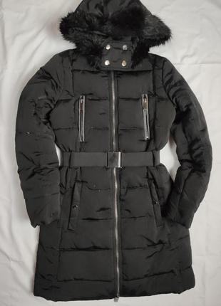 Пуховик куртка mango xs