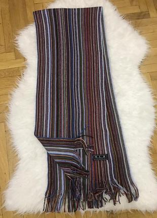 Фирменный мужской шарф классический стиль hla london1 фото