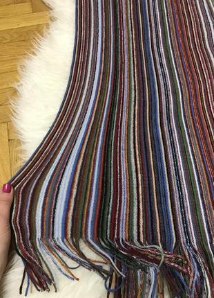 Фирменный мужской шарф классический стиль hla london3 фото