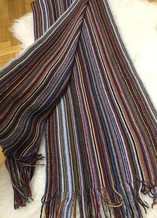 Фирменный мужской шарф классический стиль hla london4 фото