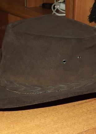 Кожаная ковбойская шляпа kookaburra  австралия