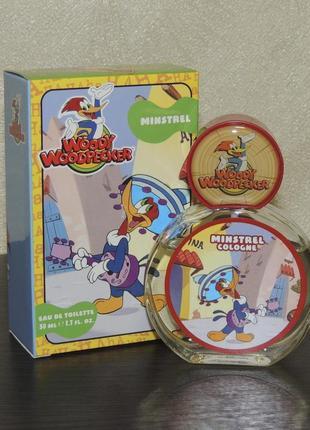 Woody woodpecker minstrel 50 мл для мальчиков