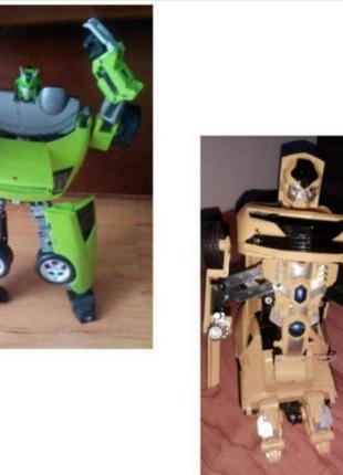 Робот машина трансформер