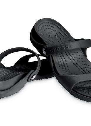 Шлепки крокс crocs cleo, 37, 39