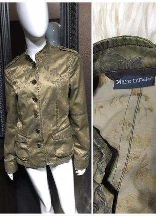 Marc o' polo пиджак цветы жакет marc o polo в китайском стиле оригинал