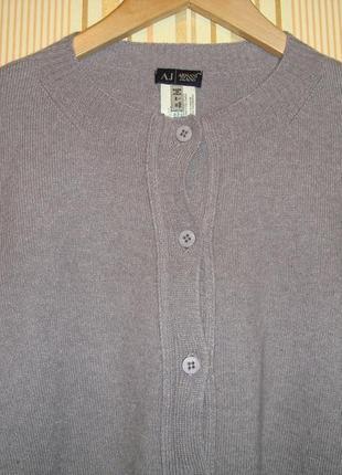 Кардиган кофточка armani jeans (италия)