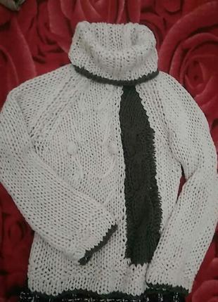 Зимний свитер ,гольф