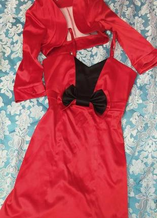 Нарядное платье и болеро montella