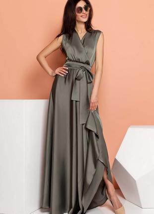 Вечернее платье длинное макси в пол