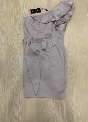 Атласное платье karen millen