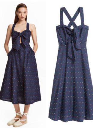 Новое платье сарафан h&m миди трансформер