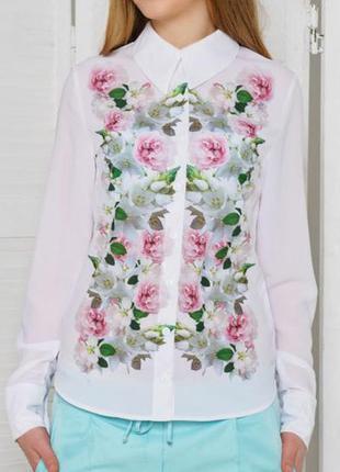 Блуза шифонова