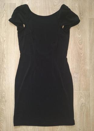 Вечернее платье с открытой спиной, платье мини