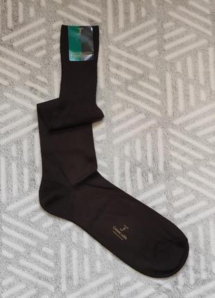 44-45р легкие, теплые носки коричневого цвета