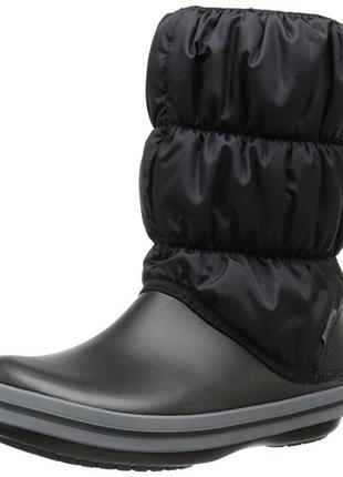 Сапоги crocs winter puff snow boot раз. us11 - 26,5см