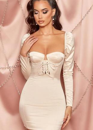 Платье-бюстье корсетного типа