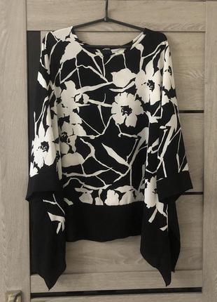 Свободная блуза большого размера батал