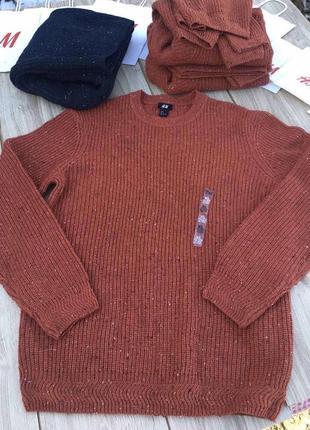 Стильный актуальный свитер лонгслив джемпер реглан h&m gap zara свитшот кофта