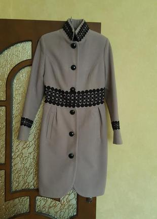 Срочно, за пол цены! люксовое пальто, итальянский кашемир.