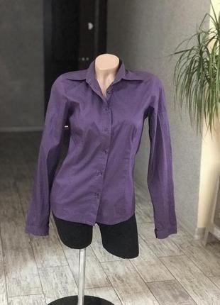 Красивая приятная к телу блуза рубашка