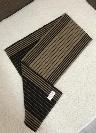 Мягкий тёплый шарф шерсть