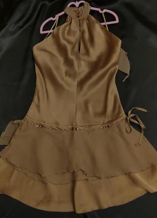 Ysatis, шёлковое новогоднее платье