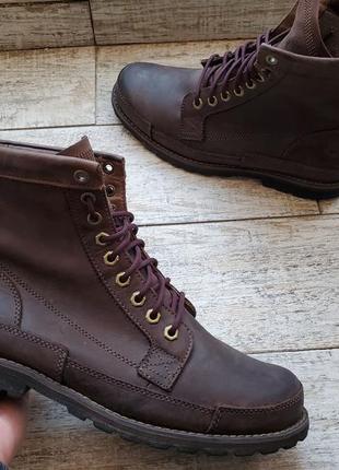 Мужские кожаные ботинки timberland earthkeepers 6 inch boot 15550 (28.5 см)
