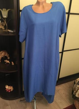 Платье  коттон xl