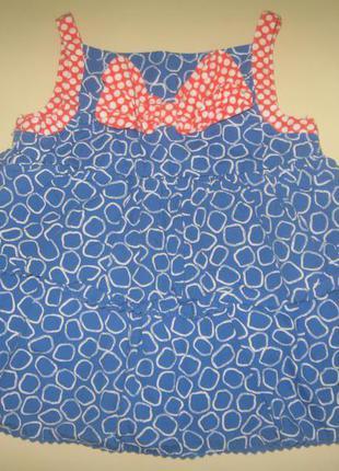 Сарафан- платье- туника  с воланами на 2-3года))акция 1+1+1=2 ))