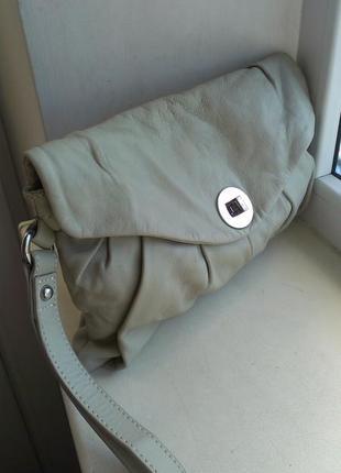 Кожаная сумка, клатч marks & spencer limited collection