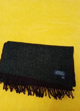 Шикарный шарф из чистой шерсти, шикарного бренда!