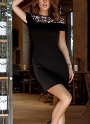 Женственное платье, украшенное сеточкой + бесплатная доставка новой почтой
