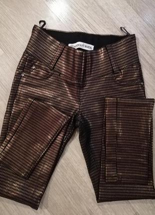 Очень классные блестящие штаны
