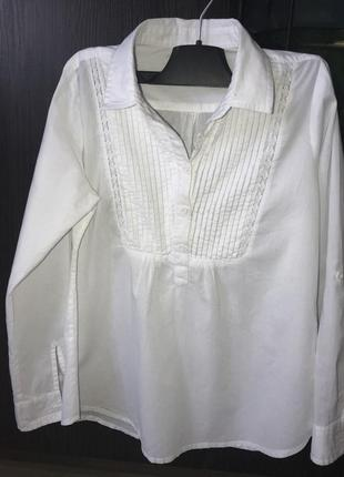 Рубашка блузка на девочку 140см