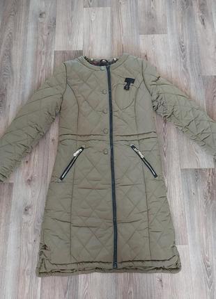 Теплое зимнее пальто, куртка