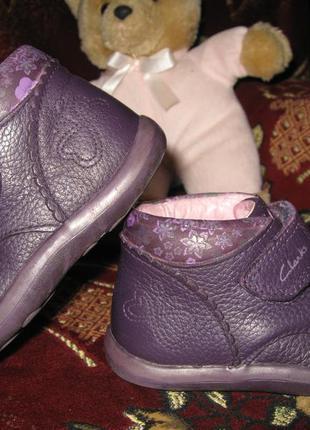 Ботиночки clarks 5f