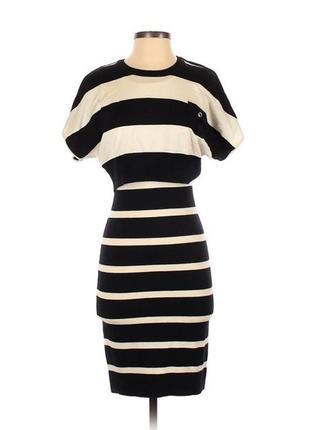 Karen millen шикарное платье по фигуре с 47% шерсти,мягкое и теплое, размер 210 фото