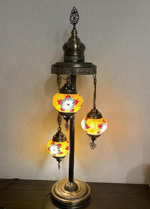 Турецкий торшер (напольный светильник) ручной работы из мозаики