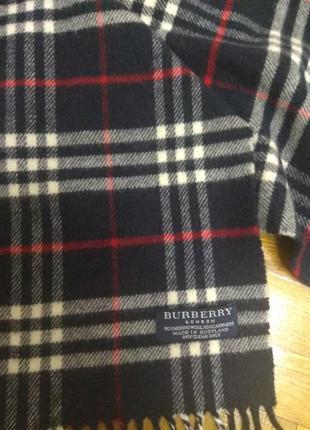 Очень крутой шарф, фирменный burberry london