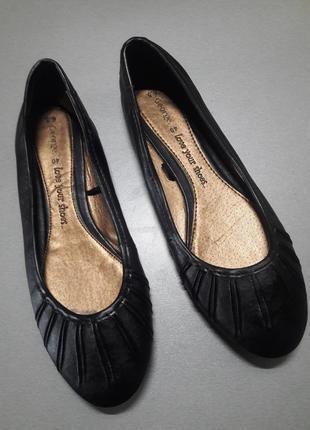 (р.39/25 см) стилтные балетки от george
