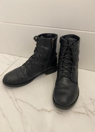 Geox ботинки  36eu унисекс кожа