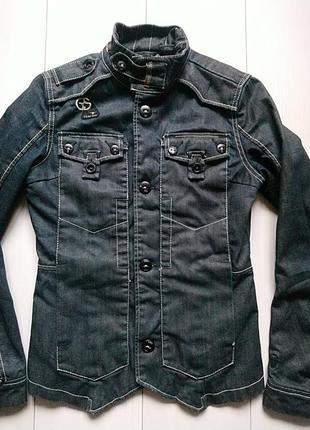 Джинсовый пиджак g-star raw