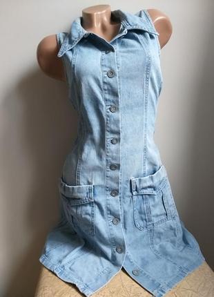 Джинсовое платье. сарафан. безрукавка. рубашка макси.