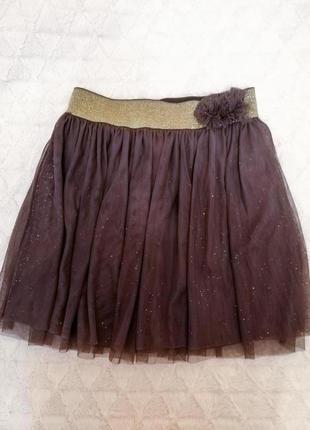 Нарядная юбка из тюли cool club