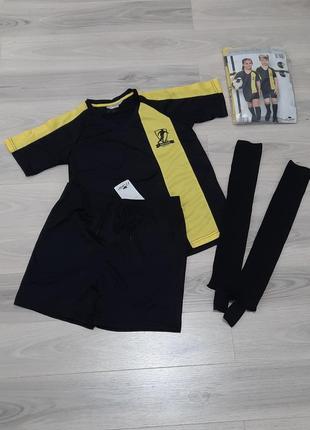Футбольная форма комплект: футболка + шорты + гетры crane 110/116