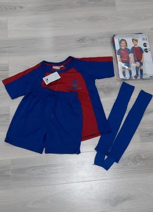 Футбольная форма комплект: футболка + шорты + гетры crane 122/128, 134/140 и 146/152